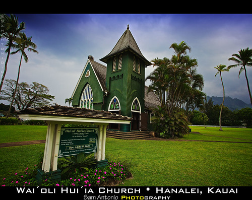 I will dwell in the house of the LORD forever - Wai' Oli Hui'ia Church, Kauai by Sam Antonio Photography