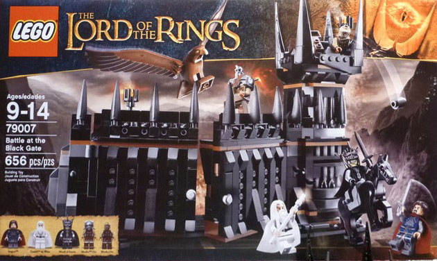 LEGO The Lord of the Rings 79007 Battle at the Black Gate