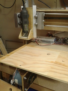 CNC wiring upgrade & table leveling