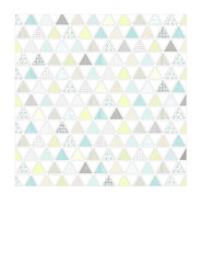 1b pattern-filled triangles SMALL SCALE - 7x7 inch