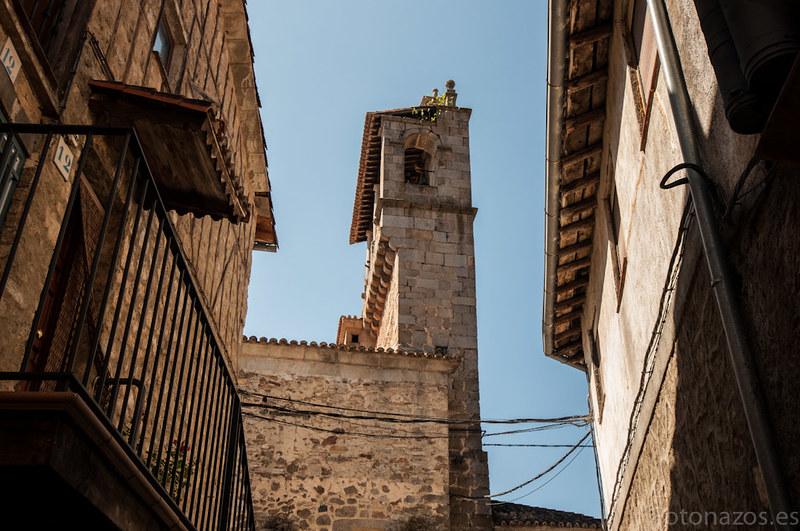 La iglesia de San Martín del Castañar