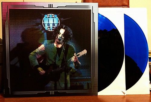 Jack White - Live At Third Man Records 2xLP - Blue/Black Split Color Vinyl by Tim PopKid