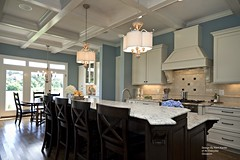 Kitchen Island Inspires Design by Kerri Kanter of An Everyday Occasion