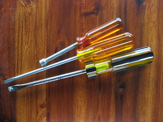 Tools with Cellulose Acetate Butyrate handles