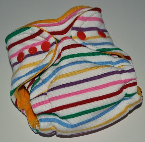 Bumstoppers Newborn   Crayon box Hybird Fitted **New Style**