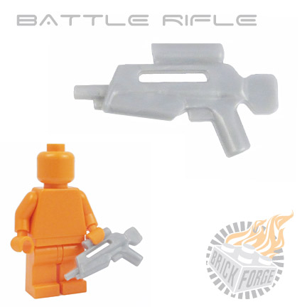 Battle Rifle - Silver