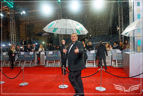 The Establishing Shot: EE BAFTAs RED CARPET PRODUCER GRAHAM KING GIVES US A THUMBS UP by Craig Grobler