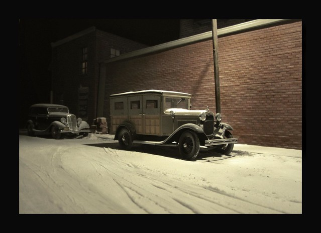 Woodie in the Snow  - 1935