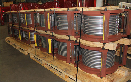 "14"" Dia. Single Expansion Joints Custom Designed for a Pipe Line in an Utility Plant"