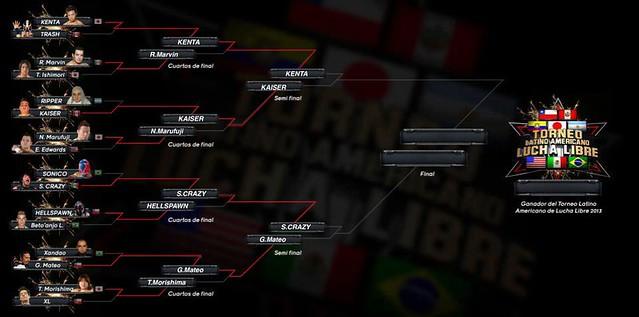 """LWA """"Reyes de la Lucha Libre III"""" Resultados (15 Febrero 2013) KENTA y Super Crazy avanzan a las semifinales 2"""