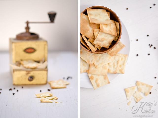 Crackers al pepe