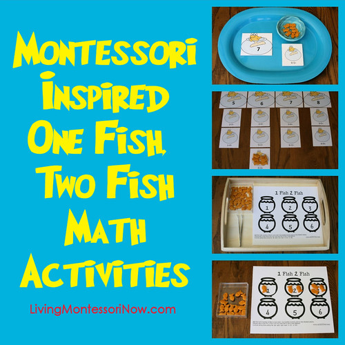 Montessori-Inspired One Fish, Two Fish Math