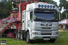 Foden Alpha 450 6x4 Tractor Showman - Silver - Stuart Danter & Sons Fun Fairs - YF02 UXR - Bristol - Steven Gray - IMG_7383