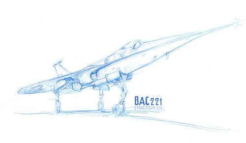 Fairey Delta 2 BAC221 by Stefan Marjoram