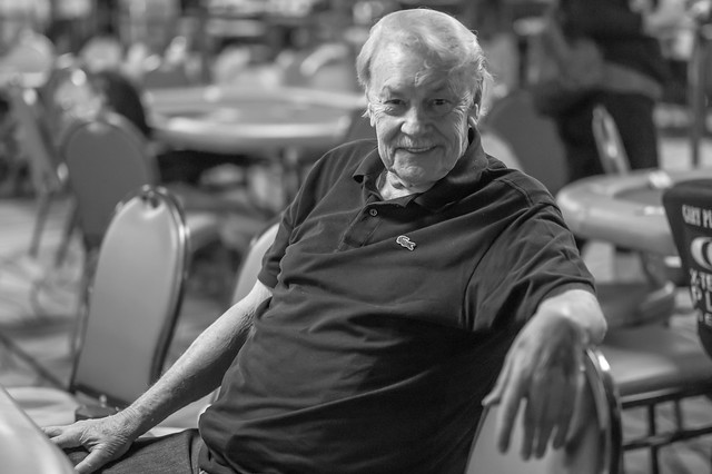 Jerry Buss - Photo by Melissa Hayden