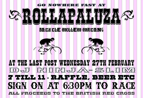 Rollapaluza flyer