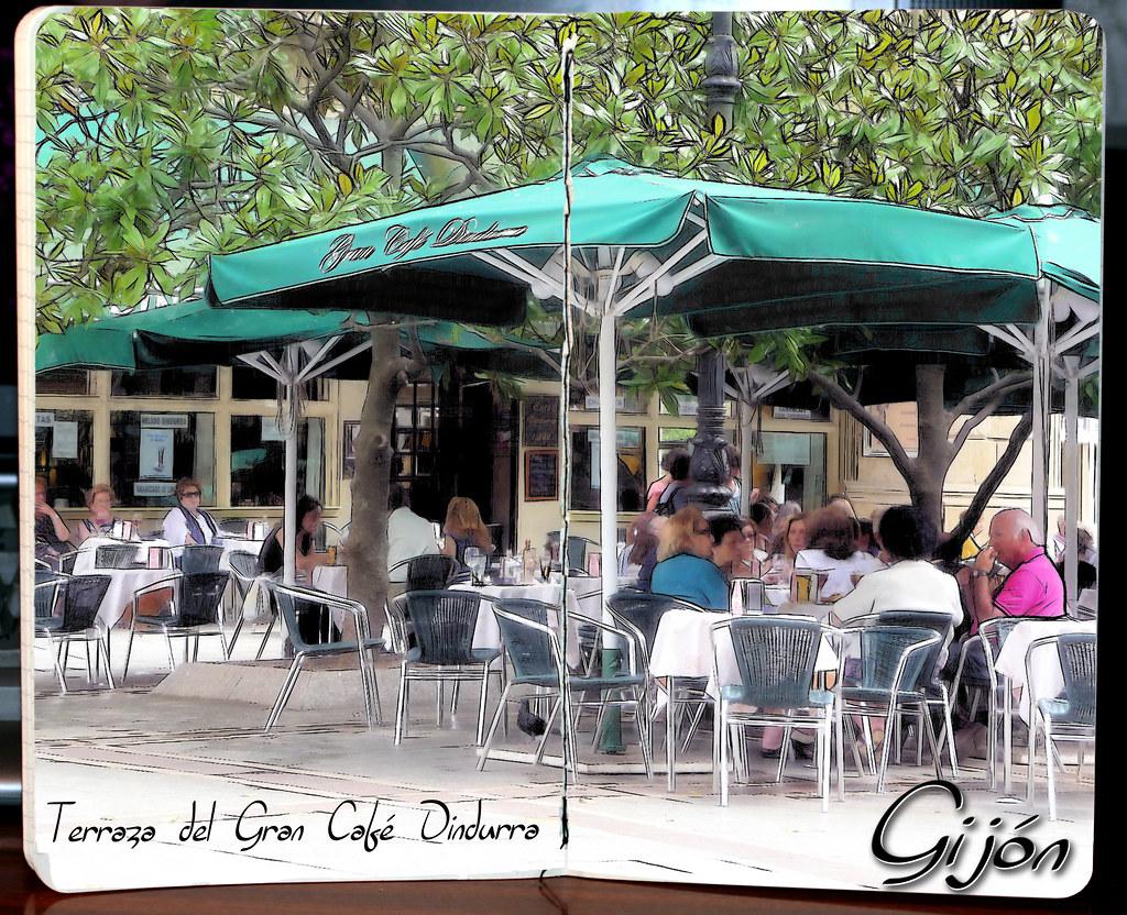 Gran Café Dindurra de Gijón