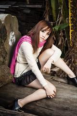 [フリー画像素材] 人物, 女性 - アジア, セーター ID:201303102200