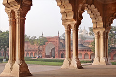 Le Diwan-i-Am (Fort Rouge, Agra)