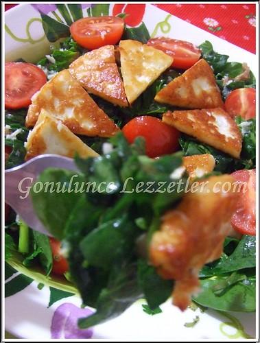 ıspanak salat 1