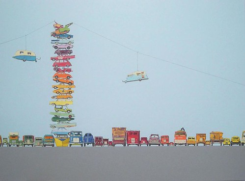 Jeremy Dickinson, Double Spectrum Tramway, 2010
