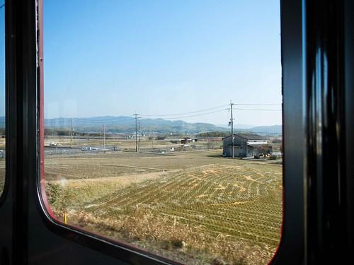 Train view, fields