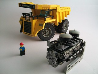 Great Big Mining Truck
