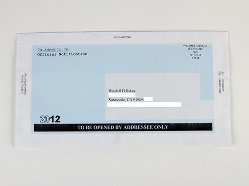 Important Envelopes 18