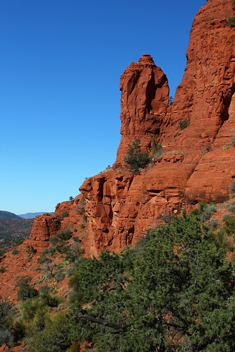 View Toward Eagle Rock, Sedona, Arizona