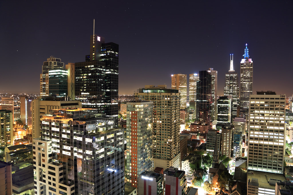 Melbourne in Night