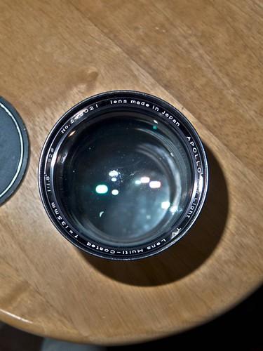 Apollo MC 135mm f1.8 LowLight TV Lense