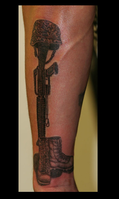 Fallen soldier flickr photo sharing for Fallen soldier tattoo