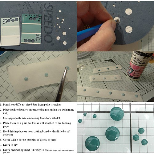 Faux enamel dot tutorial