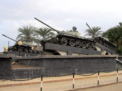 monument tanks massawa eritrea