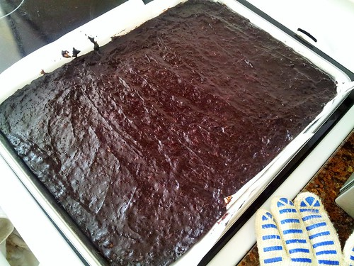 What Smells So Good?: Cookie Sheet Brownies