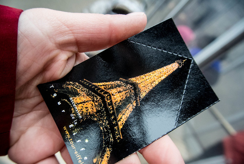 Eiffel Tower Elevator Pass