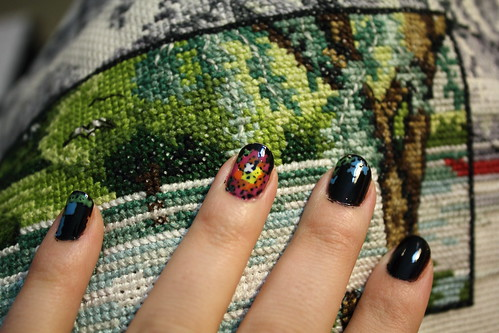 Cross Stitch Manicure