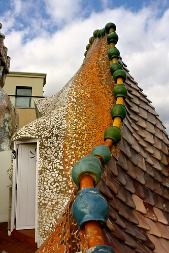 Gaud 237 Week 2 Casa Batll 243 In Barcelona Spain