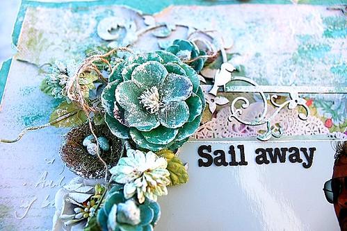 Sail away detalj