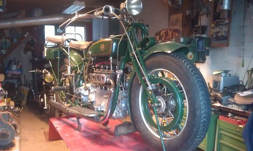 FN Type M50 4cylindres 750cc 1924 ( Fr ) by vintage-revival