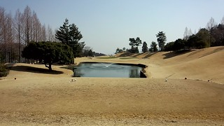 ゴルフラウンド29回目:立川国際CCは53+50=103。初のブービーメーカー賞(つまりビリ)を受賞しました。