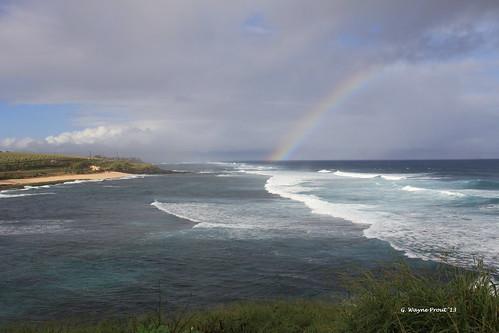 hawaii maui rainbows roadtohana hwy36 hanaroad hookipabeachpark