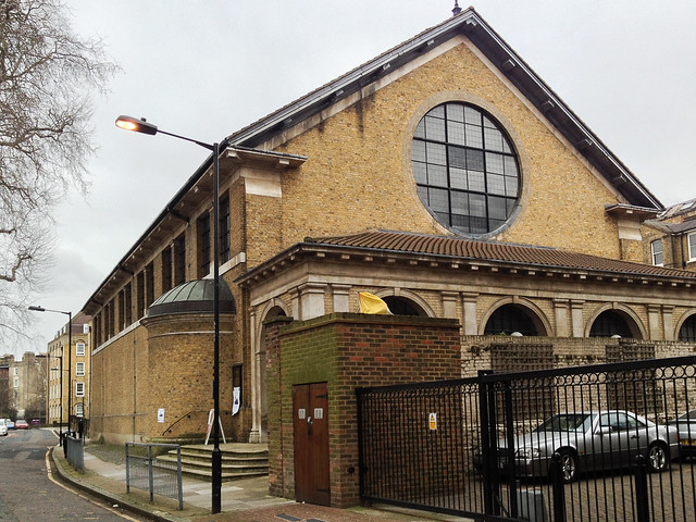St Patrick's Church in Wapping