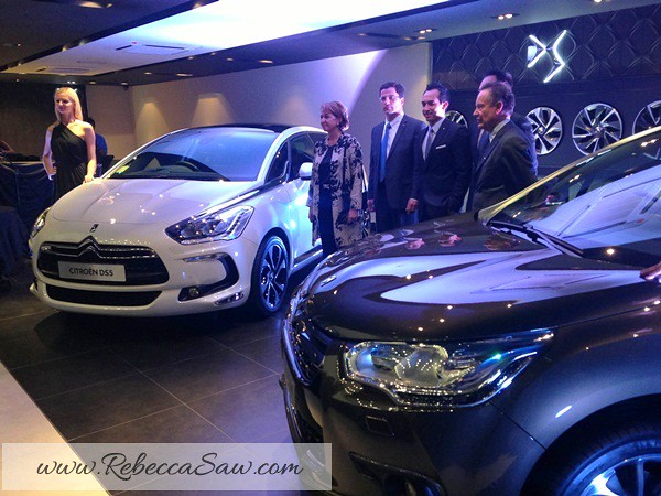 Citroen DS4 and DS5 Launch- rebeccasaw