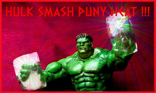 MEANWHILE...HULK BEAT HEAT !!