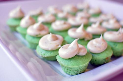 Mini Lime Cupcakes 2