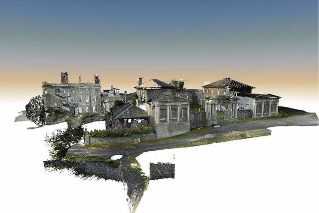 3D Pointcloud image - 3.5billion points