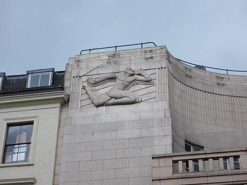 Art Deco sculpture, Leicester Square