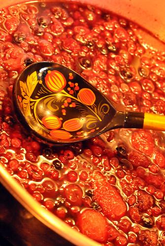 Rote Grütze mit Perlsago