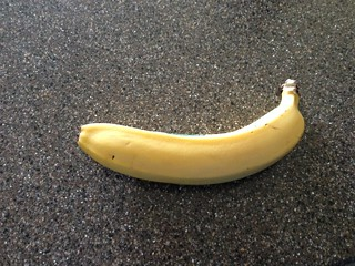 Banana (pre-run snack)